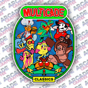 Multicade-Donkey-Kong-Series-Arcade-Cabinet-Game-Graphic-Artwork-Sideart