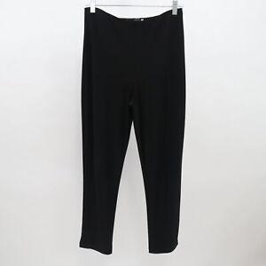 Sympli Canada Crop Leggings Yoga Pants Womens 6 Black Stretch Pull On High Waist Ebay