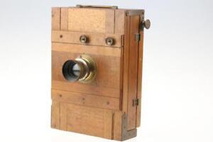 Wooden-Camera-13x18cm-with-Busch-Rapid-Aplanat-No-2
