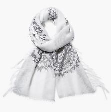 Desigual Schal & Tuch RECTANGLE RECTANGLE WHITE SILVE