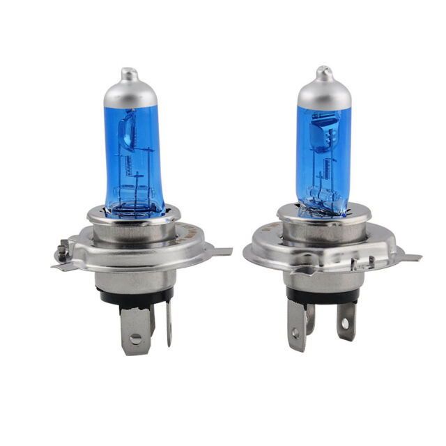 2X H4//HB2 9003 XENON ULTRA WHITE 12V 100W 6000K BRIGHT HALOGEN HEADLIGHT Lights