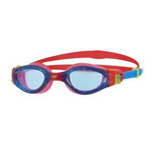 Zoggs-Junior-Phantom-Elite-Swimming-Goggles-in-Red-Blue
