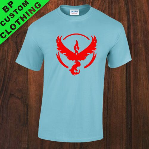 New Team Valor Pokemon GO Fan Inspired Kids Youth T-Shirt 7 colors 5-16yrs