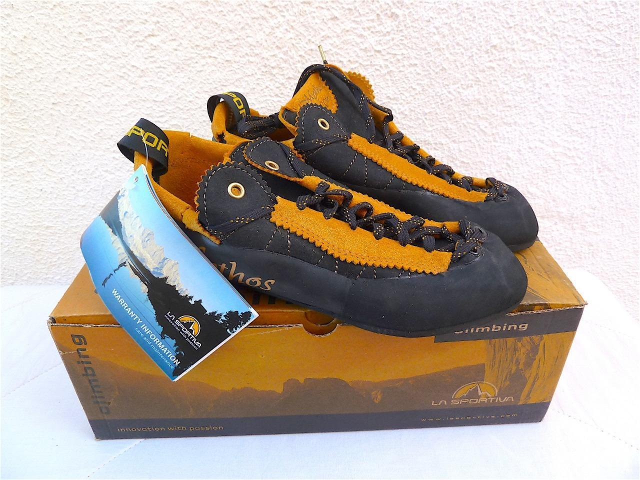 LA  SPORTIVA MYTHOS ANNIVERSARY gold LTD ED NUMBERED CLIMBING SHOES V.RARE READ    online sales