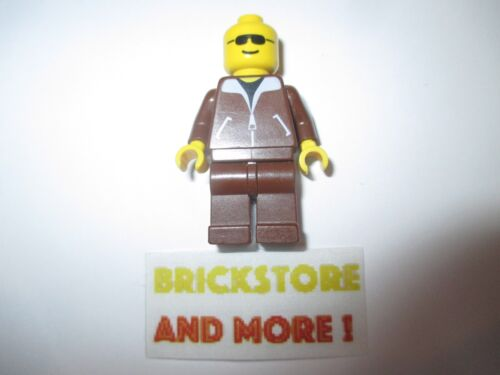 Lego Classic Town Jacket Brown Brown Cruiser game003 Minifigures