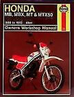 Honda MB, MBX, MT and MTX50 Owner's Workshop Manual von Jeremy Churchill (1988, Taschenbuch)