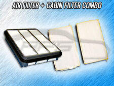 AIR FILTER CABIN FILTER COMBO FOR 2001 2002 MAZDA MILLENIA 2.5L ONLY
