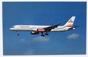 Canada-3000-Boeing-757-28A-Postcard