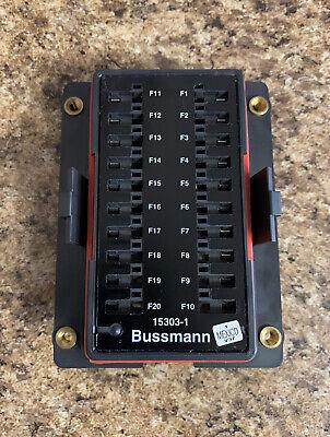 COOPER BUSSMANN 15303-1-1-4 POWER DISTRIBUTION MODULE