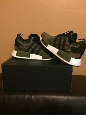 new styles e43bb 3dc72 Adidas NMD R1 AI Camo Olive Cargo Mens Size 7.5 CQ1864 1900