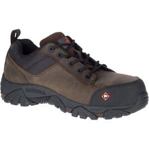 f6c3c80cbf1 Details about Merrell Men Moab Rover Lace Comp Toe Work Shoe Wide Width
