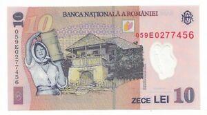 Romania-10-lei-2005-FDS-UNC-pick-119a-rif-3725