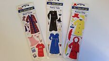 BRAND NEW ALL DOLLED UP REUSABLE VINYL STICKERS 1994 Make Pretend USA Paperdolls
