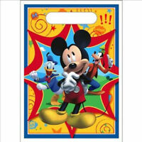 16 Mickey Mouse Clubhouse Birthday Favor Loot Candy-treat Bags Sack Party Supply