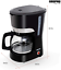 thumbnail 6 - Geepas 1000W Filter Coffee Machine, 1.5L   Coffee Maker for Instant Coffee, &  