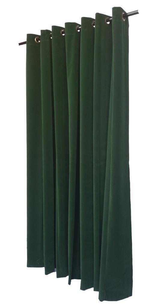 Vert 183cm H Panneau Rideau En Velours avec/œillet Oeillets Oeillets avec/œillet Haut De La Page 2876c0