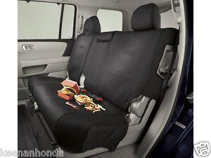 genuine oem honda pilot 2nd second row rear seat cover 2012 2015 ebay. Black Bedroom Furniture Sets. Home Design Ideas