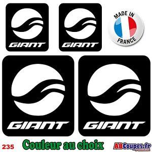 Details About 4 Stickers Logo Giant Autocollants Adhésifs Cadre Velo Bike Vtt Montain 235