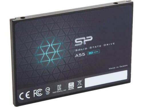 """Silicon Power Ace A55 2.5/"""" 256GB SATA III 3D TLC Internal Solid State Drive SSD"""