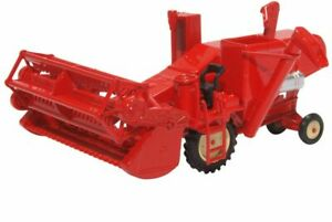 Farm-Combine-Harvester-Diecast-Model-1-76-Scale-OO-Gauge-Oxford-Automobile-NEW