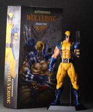 "X-Men Astonishing Wolverine Logan 1/6 Big PVC Figure 11"" Statue Toy Boy Gift NIB"