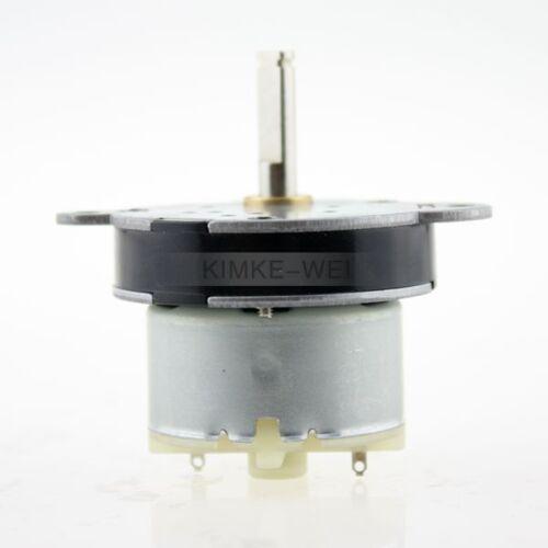 12V 7RPM Torque Gear Box Motor New