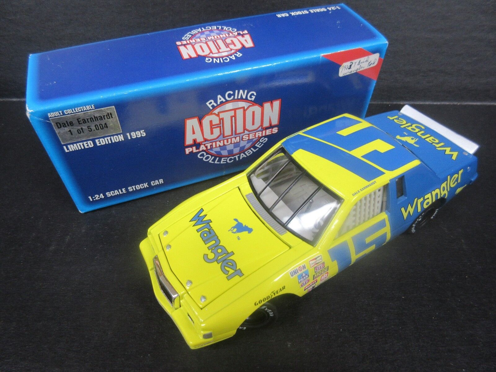 1995 Action  15 Dale Earnhardt--Wrangler Car-- 1 24th scale