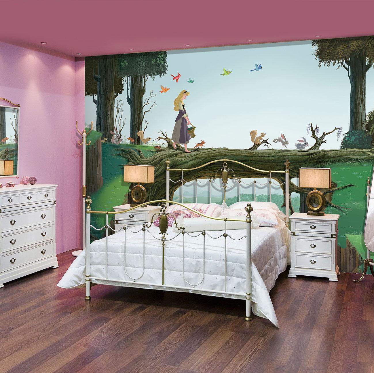 Mädchen Zimmer Riesiges Fototapete Wandtapete 368x254cm Aschenputtel