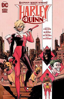 BATMAN WHITE KNIGHT PRESENTS HARLEY QUINN #3 CVR A SEAN MURPHY DC COMICS OF 6