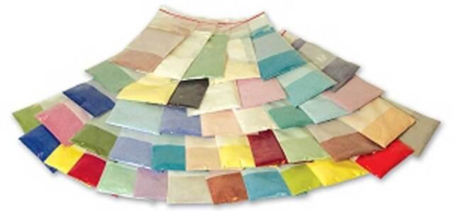 powder enamel assortment for glass