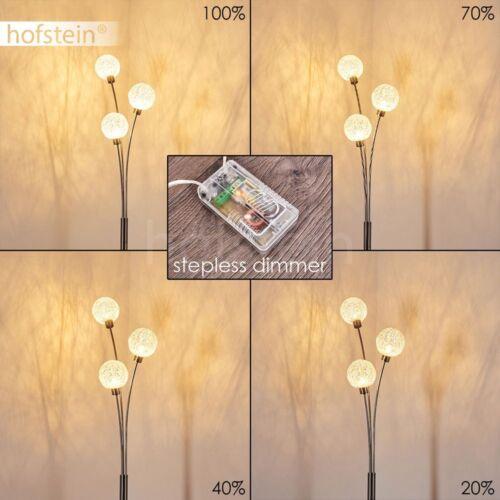 3-flammige Boden Steh Stand Lampen Wohn Schlaf Zimmer Flur Beleuchtung dimmbar