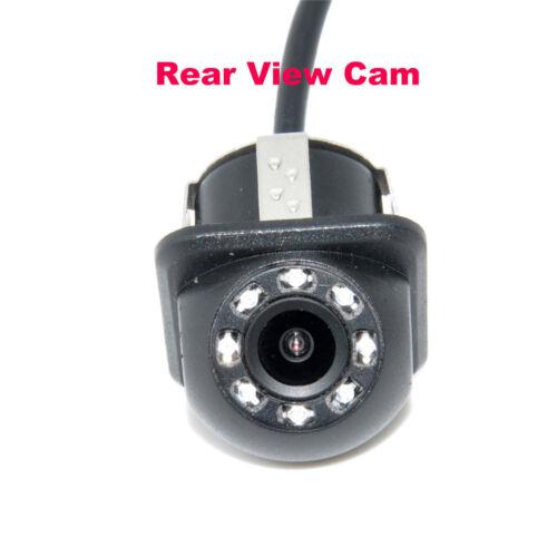 8LED HD CCD Car Rear View Camera Car Reversing Backup For Parking Monitor Camera