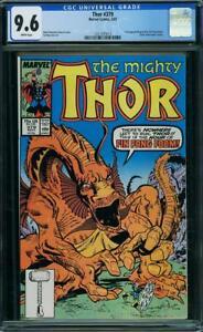 Thor-379-US-MARVEL-1987-Simonson-FIN-FANG-FOOM-CGC-9-6-Presque-comme-neuf-2nd-Highest