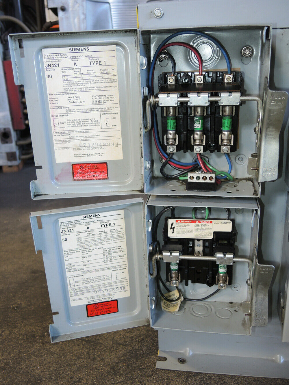 Acme Transformer T-3-53342-3 30 KVA 480 Delta to 240/120 Volts 3 Phase on