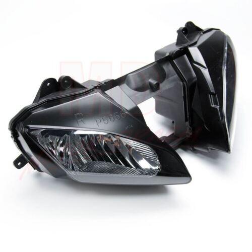 Black Front Headlight Head Light Lamp Assembly For Yamaha YZF R6 YZFR6 2006-2007