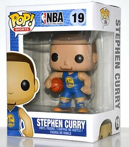 Funko Pop Nba Stephen Curry Vinyl Figure 19 Ebay