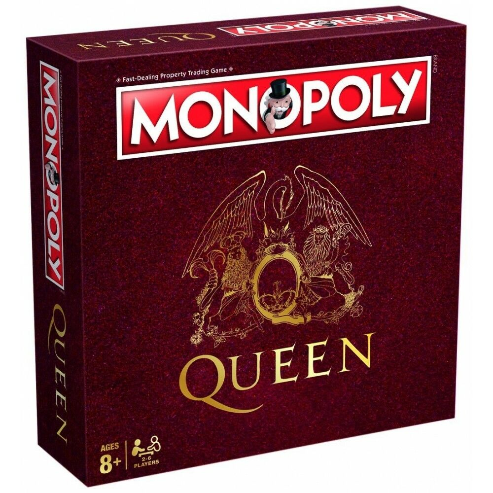 Monopoly Queen Edition Board Game (New & Sealed)