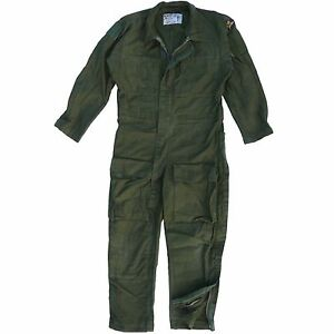 Swedish-Military-Flight-Suit-Flyer-Boiler-Coverall-Genuine-Army-AirForce-Surplus