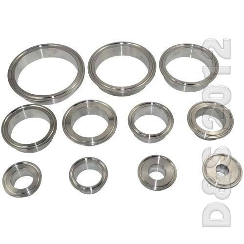"""38MM 1-1/2"""" 1.5"""" OD Sanitary Weld on Ferrule Tri Clamp Stainless Steel SS316"""