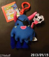 Moshi Monsters Plush Backpack Jacket Zipper Clips Moshlings W/tag & Code
