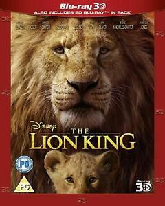 LION-KING-LA-3D-BD-RETAIL-DVD-Region-2