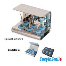 Dental Ultrasonic Scaler Piezo Tip Holder Box Fit Emsnskwoodpecker Sterilize