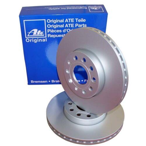 2 ATE Bremsscheiben vorne 258mm für Ford Fiesta