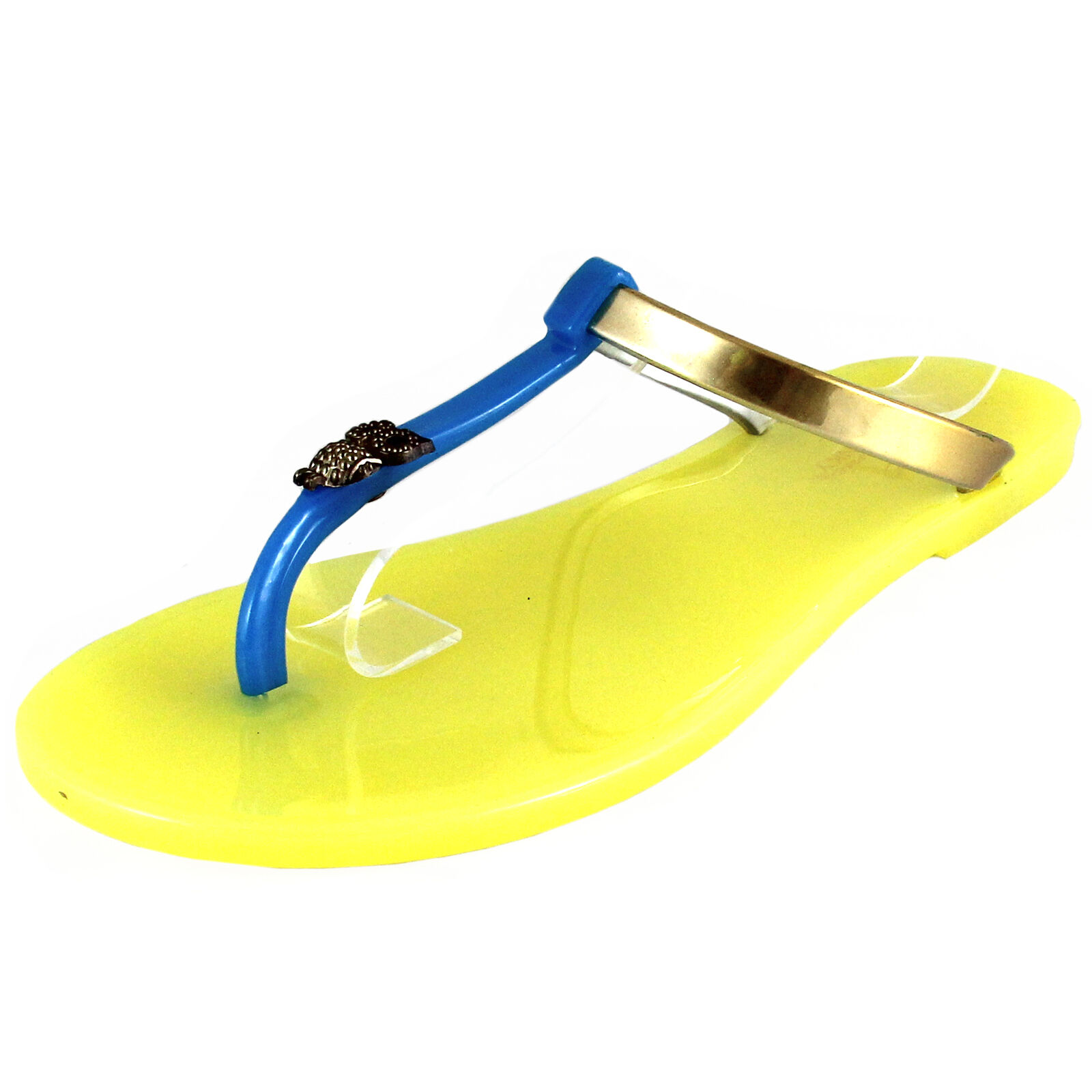 Gentleman/Lady New women's shoes fashion jelly sandals t summer strap open toe casual summer t yellow Many styles comfortability Superb craftsmanship VN357 705c5e