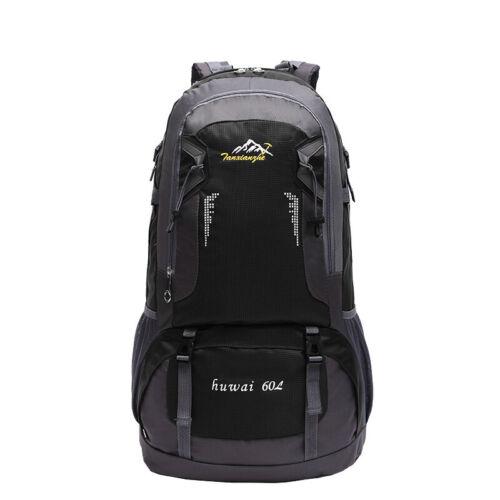 60L Rucksack Backpack Wanderrucksack Outdoor Reisetasche Sport Trekking Camping