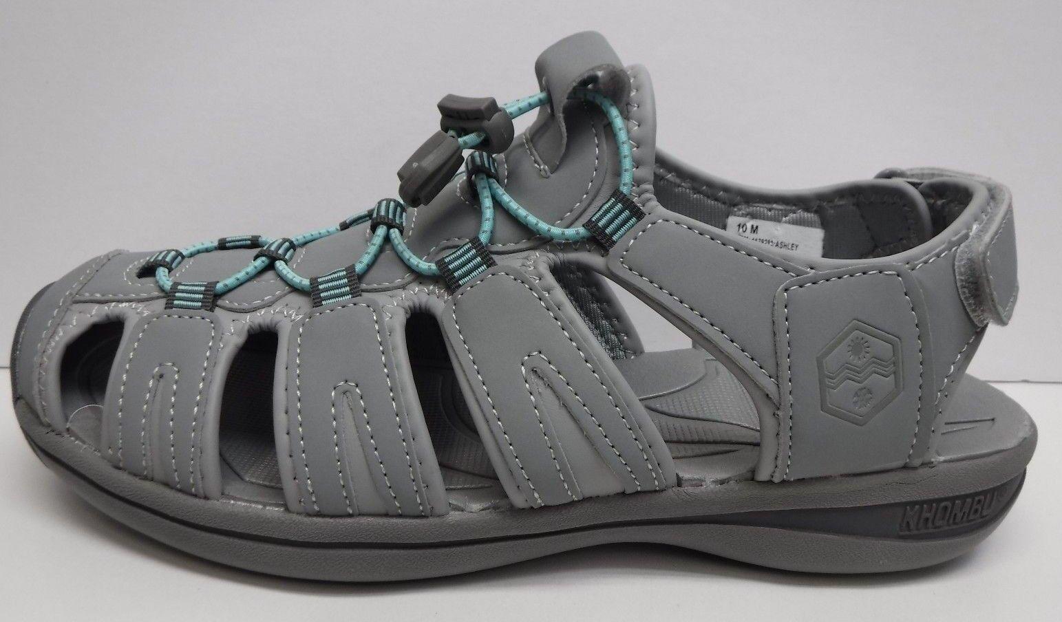 Khombu Größe 10 Damenschuhe Gray Active Sandales New Damenschuhe 10 Schuhes f3eeff