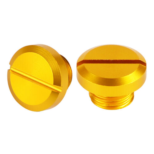 2 PCS M10X1.25 CNC Mirror Holes Plugs  for Honda,Yamaha,Suzuki,Kawasaki,KTM