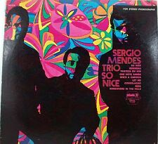 Sergio Mendes Trio  So Nice    LP