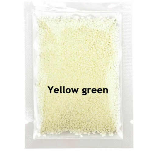 Fluorescent Super Bright Glow in the Dark Particles Sand DIY Party Glow Pigment