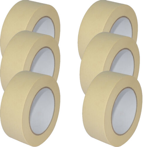 Quality Masking Tape 50mm X 50m Indoor//Outdoor General Purpose Decorating NEW